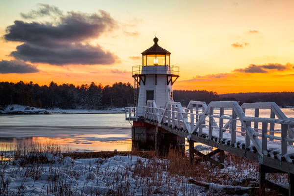 Photograph - Doubling Point Light by Robert Clifford