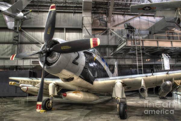 Wall Art - Photograph - Douglas A-1e, Skyraider by Greg Hager