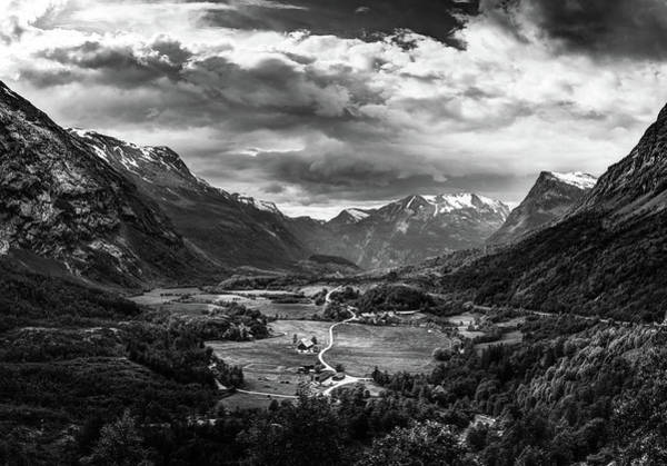 Photograph - Down In The Valley by Dmytro Korol