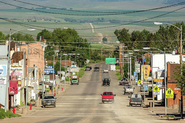 Photograph - Dusty Mountain Town by Todd Klassy