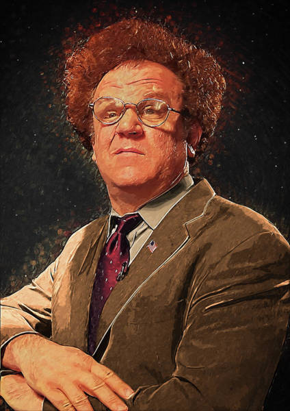 Tim And Eric Digital Art - Dr Steve Brule by Zapista Zapista
