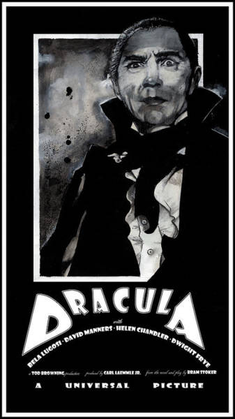 Dracula Movie Poster 1931 Art Print