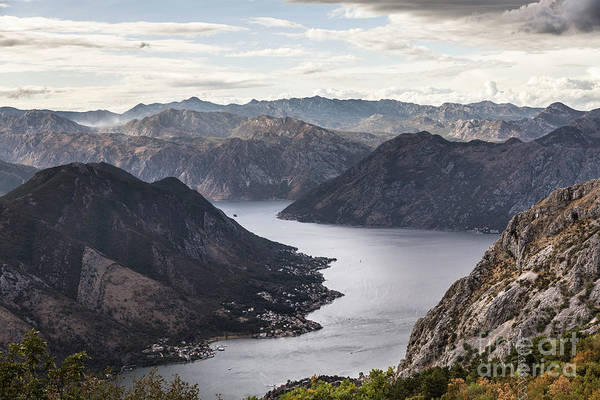 Photograph - Dramatic Kotor Bay In Montenegro by Didier Marti