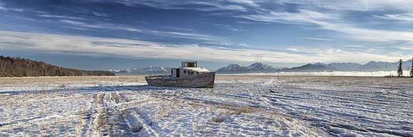 Photograph - Drifter Pano by Ed Boudreau