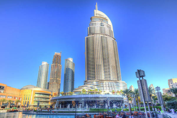 Wall Art - Photograph - Dubai Architecture by David Pyatt