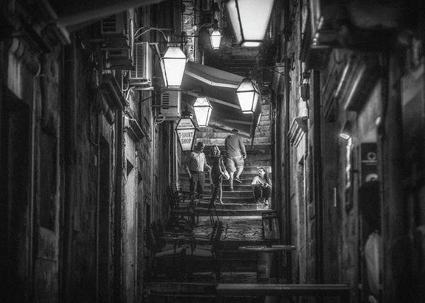 Dubrovnik Photograph - Dubrovnik Nightlife by Chris Fletcher