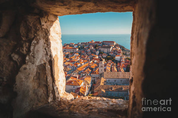 Wall Art - Photograph - Dubrovnik Sunset by JR Photography