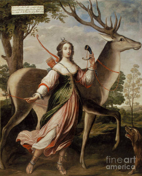 Wall Art - Painting - Duchesse De Luynes by Celestial Images