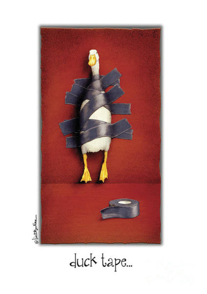 Painting - Duck Tape by Will Bullas