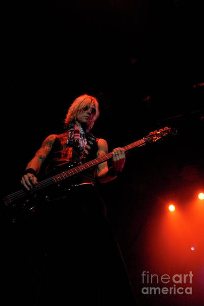 Photograph - Duff Mckagan by Jenny Potter