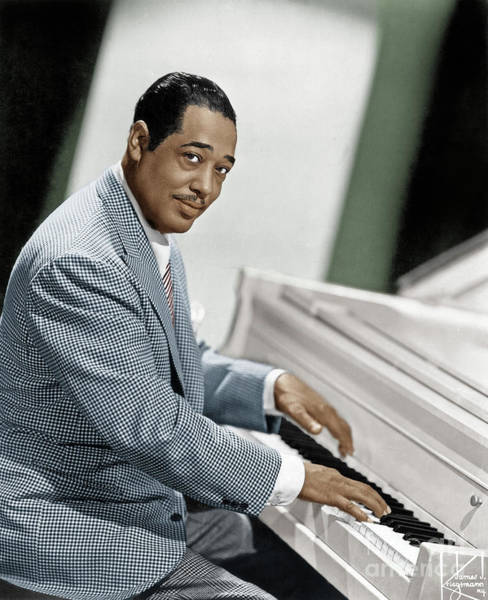 Photograph - Duke Ellington by Granger