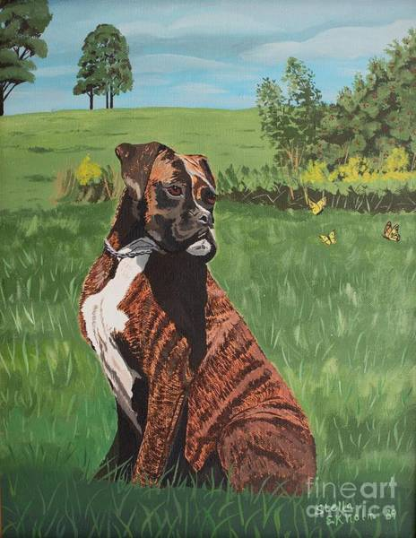 Painting - Duke by Stella Sherman