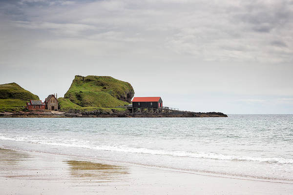 Photograph - Dunaverty Bay by Grant Glendinning