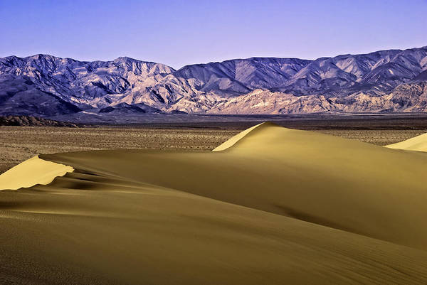 Wall Art - Photograph - Dunes And Mountains Three by Paul Basile