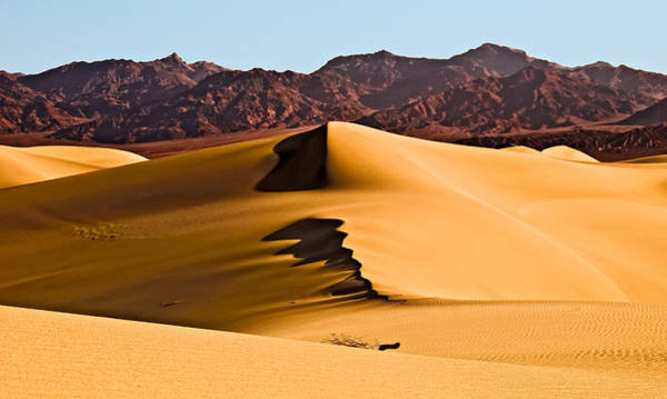 Wall Art - Photograph - Dunes And Mountains Two by Paul Basile