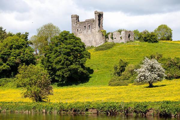 Dunmore East Photograph - Dunmoe Castle by Peter McCabe