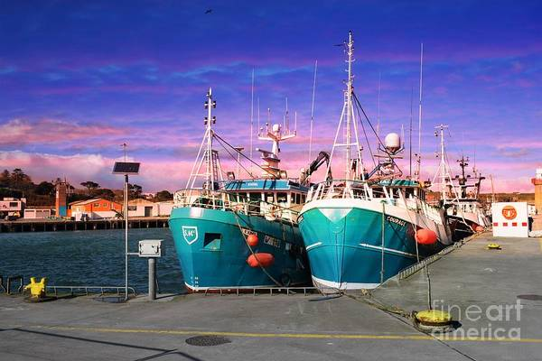 Dunmore East Photograph - Dunmore East Harbour by Joe Cashin