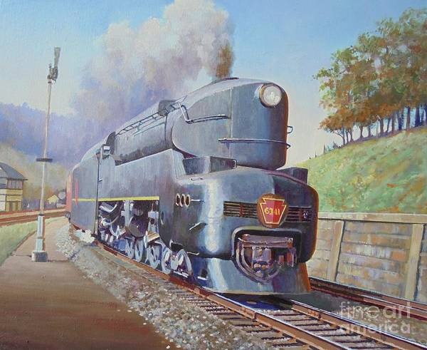 Wall Art - Painting - Duplex Express by Mike Jeffries