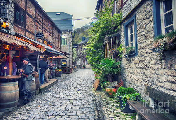 Photograph - Durbuy - Town In Belgium by Ariadna De Raadt