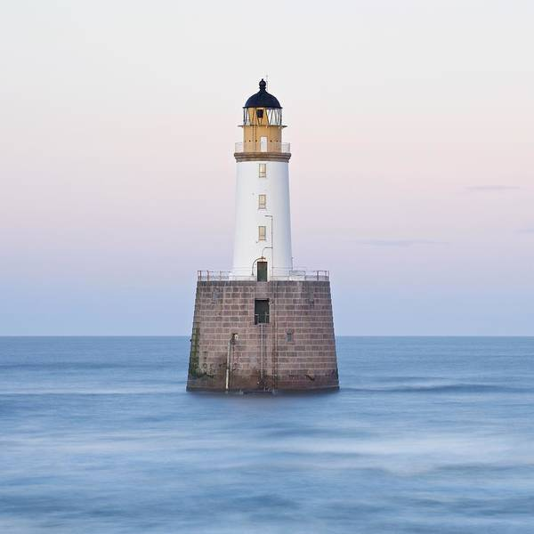Photograph - Dusk At Rattray Head Lighthouse by Stephen Taylor