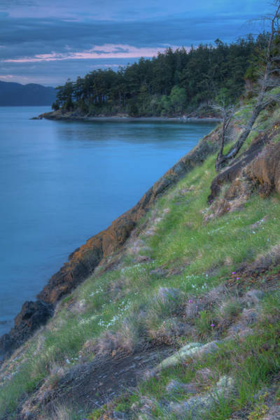 Wall Art - Photograph - Dusk On Fidalgo Island by Rich Leighton