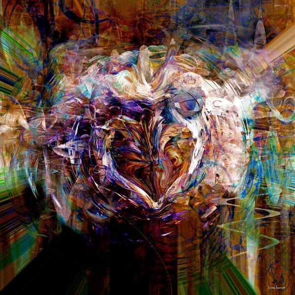 Wall Art - Digital Art - Eagle Eye by Linda Sannuti
