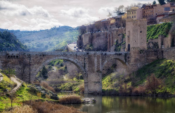 Fortified Wall Art - Photograph - Early Morning Toledo by Joan Carroll