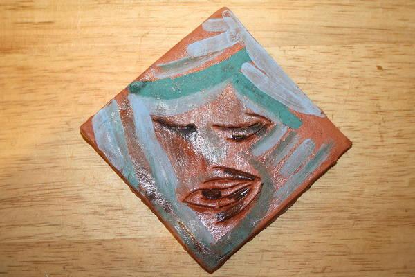 Ceramic Art - East - Tile by Gloria Ssali