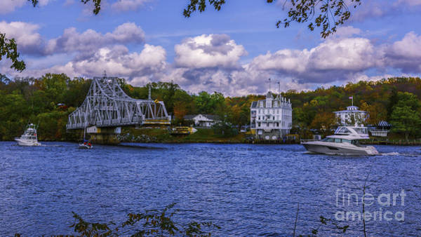 Photograph - East Haddam Swing Bridge by New England Photography