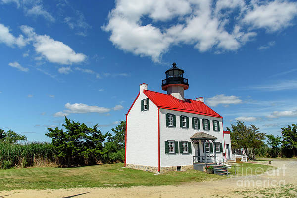 Photograph - East Point Lighthouse by Debra Fedchin