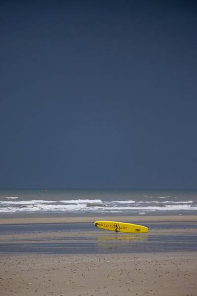 Foreshore Photograph - East Riding, Yorkshire, England Surf by John Short