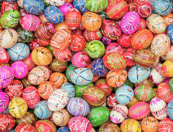 Photograph - Easter Eggs by Juli Scalzi