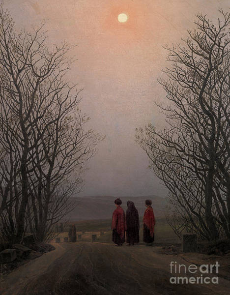 Atmospheric Painting - Easter Morning by Caspar David Friedrich