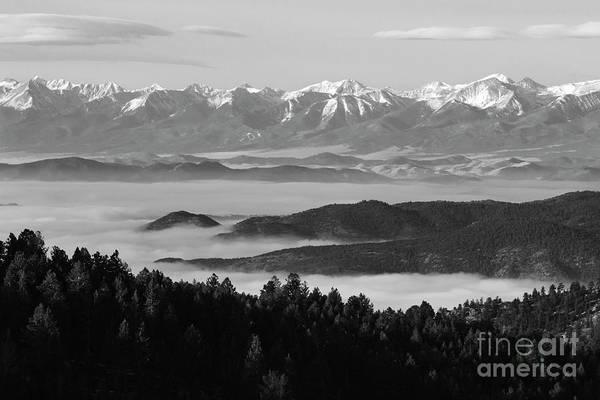 Photograph - Easter Sangre De Cristo Mountains by Steve Krull