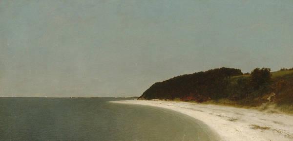 Painting - Eaton's Neck, Long Island by John Frederick Kensett