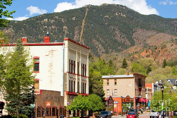 Photograph - Eclectic Victorian Architecture In Manitou Springs Colorado by Steve Krull