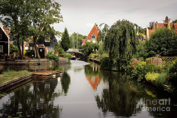 Wall Art - Photograph - Edam Canals by RicardMN Photography