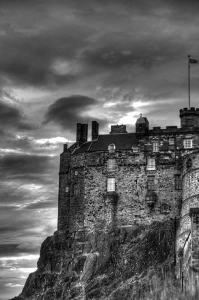 Edinburgh Photograph - Edinburgh Castle by Marion Galt