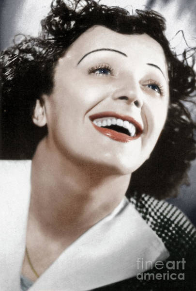 Photograph - Edith Piaf by Granger