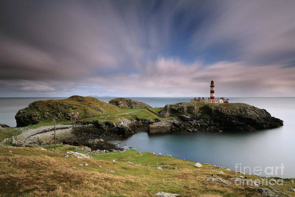 Photograph - Eilean Glas Lighthouse by Maria Gaellman