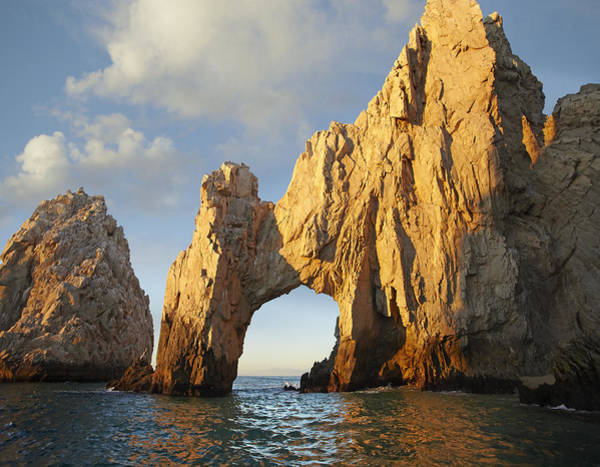 Cabo San Lucas Arch Wall Art - Photograph - El Arco And Sea Stacks Cabo San Lucas by Tim Fitzharris