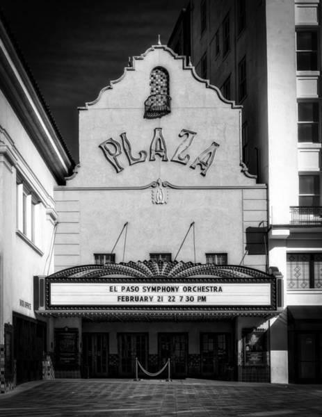 Downtown El Paso Photograph - El Paso's Plaza Theatre by Mountain Dreams