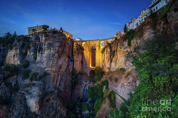 Photograph - El Tajo Canyon Of Ronda Malaga Spain by Pablo Avanzini