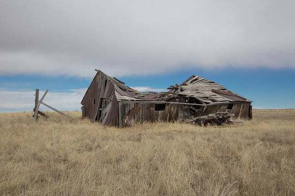 El Paso County Photograph - Elbert County Abandoned Homestead by Bridget Calip