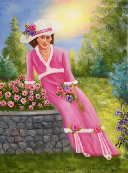 Elegant Lady Art Print