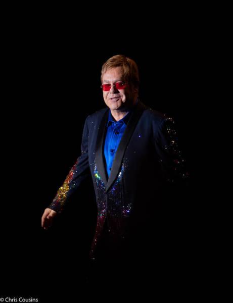 Photograph - Elton John by Chris Cousins