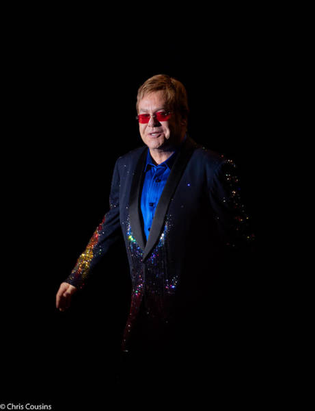 Wall Art - Photograph - Elton John by Chris Cousins