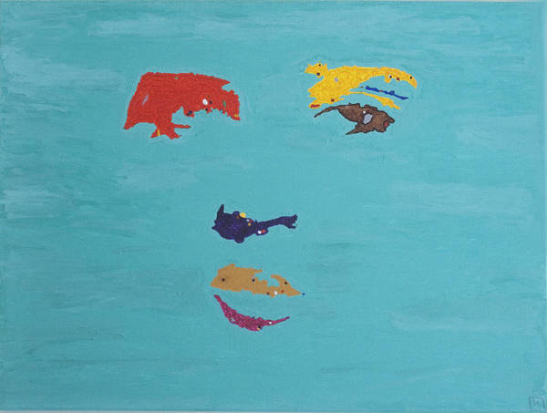 Wall Art - Painting - Elvis In The Sky by Stormm Bradshaw