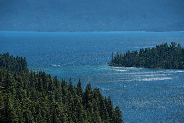 Photograph - Emerald Bay Channel by Jonathan Hansen