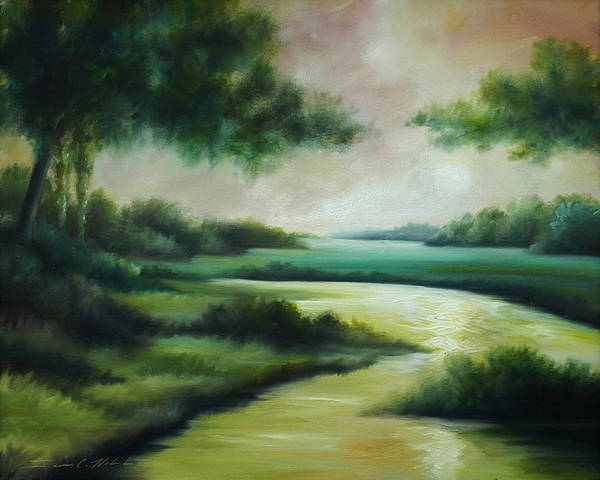 Painting - Emerald Forest by James Christopher Hill